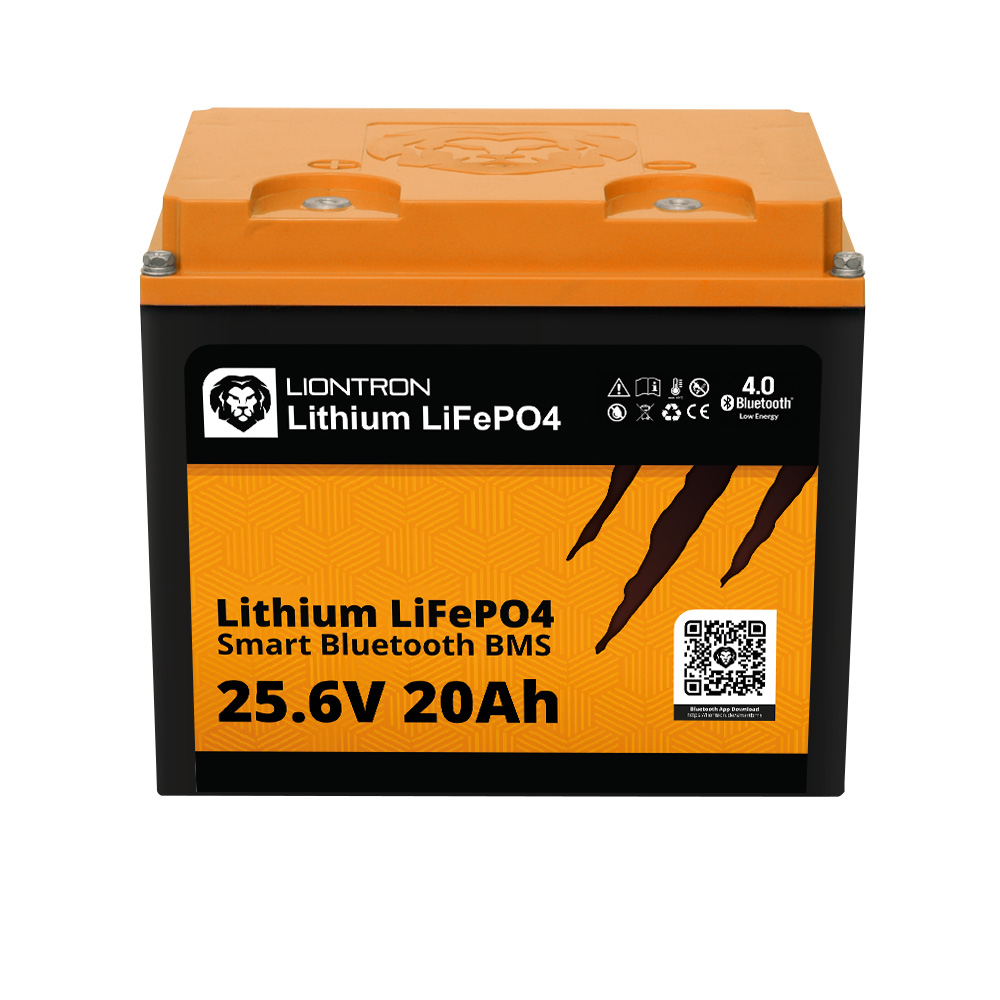 Lithium LiFePO4 LX Smart BMS 25,6V 20Ah